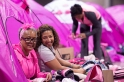 pink tent indoor camping 2013 Atlanta Susan G. Komen 3-Day Breast Cancer Walk